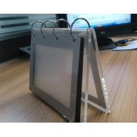 Buy cheap Acrylic Desktop calendar stand / Clear Desktop Picture Holder from wholesalers