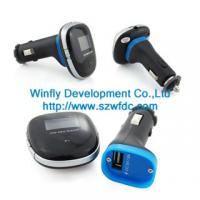 Buy cheap car mp3 fm transmitter , China car mp3 manufacturer from wholesalers