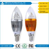 Buy cheap China Manufacturer wholesale e14 led candle lights 4w with CE ROHS listed from wholesalers