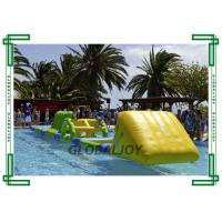 Buy cheap PVC Tarpaulin Inflatable Water Parks Floating Obstacle Course AquaTrack from wholesalers