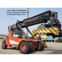 Buy cheap Lifting Equipment 45 Ton Used Reachstacker Manual Pallet Truck Type from wholesalers