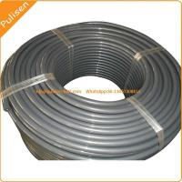 China 12.5mm Gray color Reinforced PU Round Belt, polyurethane Belt with reinforced cord on sale