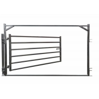 Buy cheap 30X60mm Oval Pipe Cattle Livestock Yard Panel from wholesalers