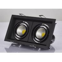 Buy cheap Recessed Led Rectangular Downlight 10W ,  Mr16 Or Gu10 Square Led Spotlights from wholesalers