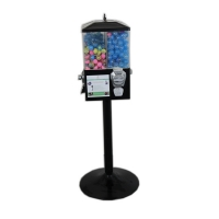 Buy cheap The four boxs Suit for 1''~1.4'' capsule  19'' tall plastic bubble gum machine from wholesalers