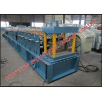 Buy cheap Hot Dipped Galvanised Steel Purlin Roll Forming Machine 15m/min from wholesalers