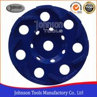 Buy cheap Boomerang Shaped 5 / 6 Inch Diamond Grinding Wheels For Grinding Rough Surfaces 50x6.2x7mm from wholesalers