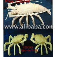 Buy cheap Bone Lobster / Crabs carvings from wholesalers
