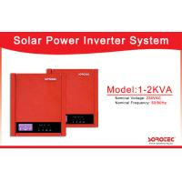 Buy cheap High Frequency 50Hz/60Hz Solar Power Inverters with Over-load Protection from wholesalers