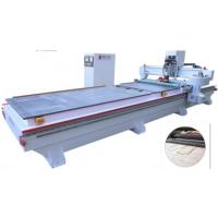 Buy cheap 2200 Kg Splint CNC Plywood Cutting Machine Plank Drilling Hollow Out from wholesalers