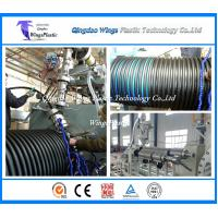 Buy cheap China PE / PP Spiral Corrugated Winding Pipe Extrusion Line / Manufacturing Machine from wholesalers