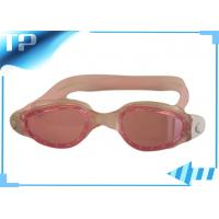 Buy cheap Optical Prescription Swimming Goggles For Kids /  Silicone Swim Glasses from wholesalers
