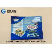 Buy cheap Oxygen Resistant 3 Side Heat Seal Plastic Bags for Sea Food Packaging CE / ROHS from wholesalers