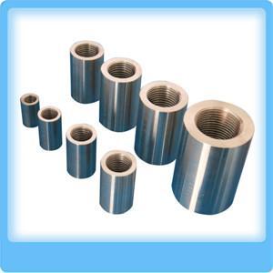 China rebar coupler price, steel rebar coupler, rebar threaded coupler, rebar splicing coupler D12-50 on sale