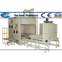 Buy cheap 500kg Pressure Pot Sandblaster , Automatic Sandblasting Machine Two Work Stations Type product
