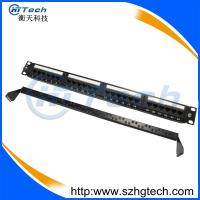 Buy cheap UTP 24 Port Cat6 Patch Panel Krone/110 IDC from wholesalers