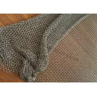 Buy cheap Stainless Steel Metal Mesh Curtains For Interior And Exterior Decoration product