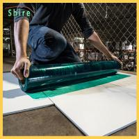 Buy cheap Builder Board Temporary Floor Protection Film Furniture Floor Protectors For Indoor from wholesalers