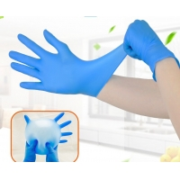 Buy cheap Anti-Static Nitrile Examination Gloves Powder Free Gloves Nitrile Gloves 100pcs Box from wholesalers