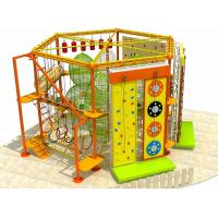 Buy cheap New Style Amusement Park Indoor and Outdoor Adventure Rope Course with Clambing Wall from wholesalers