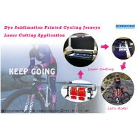 Buy cheap Unikonex laser cutting in dye sublimation printed jerseys from wholesalers