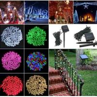 Buy cheap 100 LED Solar Powered Fairy String Light Garden Party Decor Christmas - Warm White from wholesalers