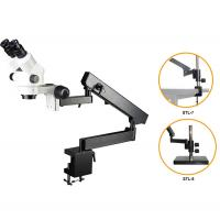 Buy cheap SXL7045-STL6B binocular articulated arm zoom stereomicroscope with table clamps from wholesalers