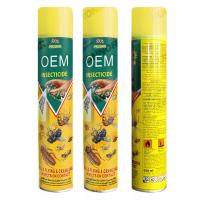 Buy cheap 198mm 400ml Spider Bug Fly Killer Spray For Warehouses from wholesalers