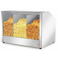 China Warm LED Lamp Commercial Popcorn Warmer Machine For Cinema / Coffee Shop on sale