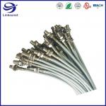 Buy cheap PVC Cable Harness Assembly with 26AWG 1.5mm IP67 Brass Connector from wholesalers