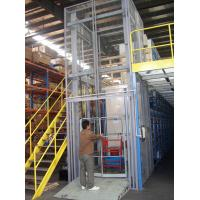 Buy cheap Effective Cargo Transfer 9m Hydraulic Guide Rail Elevator with 1000Kg Loading Capacity from wholesalers