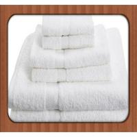 Buy cheap High quality 100% cotton 3-5 star soft hotel towels / bath towels / towel sets from wholesalers