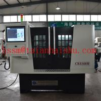 Buy cheap new product cnc wheel repair lathe CK6160W with laser probe and touch screen from wholesalers