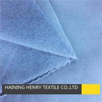 Buy cheap Warp knitting polyester spandex one side brushed fabric from wholesalers