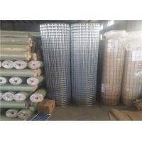 Buy cheap 2x2 Inch Strong Welding Galvanised Welded Mesh Rolls Customized Hole Size from wholesalers