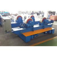 Buy cheap Bolt Adjustment Movable Pipe Welding Rollers , 20 T Capacity Pipe Supports Stands from wholesalers