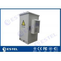 Buy cheap 24U Assembled Structure 500W Cooling Capacity Air Conditioning Outdoor Telecom Cabinet from wholesalers