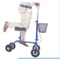 Buy cheap New Steerable 4 wheel walker with knee support from wholesalers
