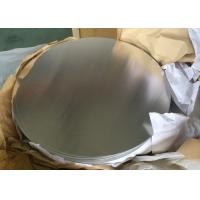 Buy cheap 0.5mm Alloy 1050 3003 Circular Aluminum Plate H14 Temper For Non Slip Cookware from wholesalers