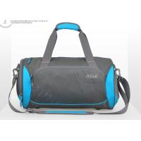 Buy cheap Blue 16inch 18 inch Duffle Bags , gym sports bag with smooth zipper from wholesalers