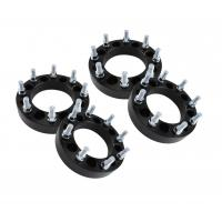 Buy cheap Set of 2 1.5 8x6.5 Black Wheel Spacers | Black Fits Chevy Silverado 2500 Trucks 3500 from wholesalers