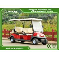 Buy cheap 48V 6 Seater Electrical Golf Car 350A Controller / Golf Buggy Car With Rain Cover from wholesalers