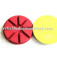 Buy cheap Colored 4 Diamond Floor Polishing Pads MAX RPM4500 For Polishing Machine from wholesalers