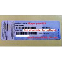 Buy cheap OEM Windows Product Key Sticker Win 7 Pro COA X16 Blue Sticker online Activation from wholesalers
