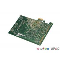 Buy cheap Blue Ink Circuit Board PCB , Multilayer PCB Fabrication For Medical Testing Device product