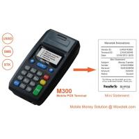 Buy cheap Movotek Mobile Recharge POS with USSD/SMS Thermal Voucher Printer for Airtime Topup from wholesalers