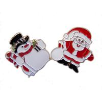 Buy cheap Christmas tree Santa bell sled snowman pin badge,Christmas decoration from wholesalers
