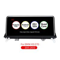 Buy cheap 10.25 inch Android 7.1 Multimedia Car Audio Car Navigation Player 2 din android for BMW X5 E70 X6 E71 With CIC System 32 from wholesalers