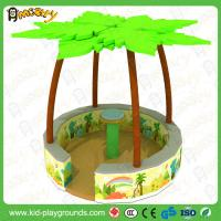 Buy cheap Coconut Trees Merry Go Round,Rotating Round Chair Movable Multiplayer Funny Kids Electric Soft Electric Playground from wholesalers