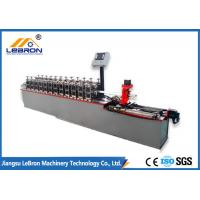 Buy cheap Furring Channel Cold Roll Forming Machine PLC Control 3900mm*1500mm*1600mm from wholesalers
